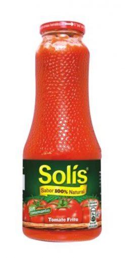 Tomate Solís frito frasco 725 g