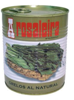 Grelos al natural A Rosaleira bote 500 g