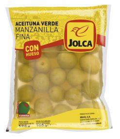 Aceituna Jolca con hueso bolsa 100 g