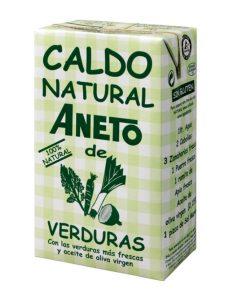 Caldo Aneto verduras 100 % natural 1 l