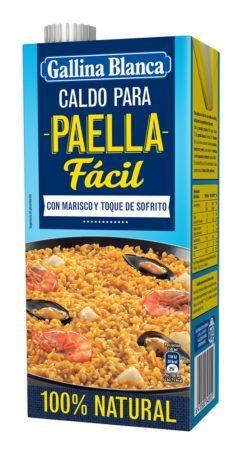 Caldo Gallina Blanca Paella 100% 1l