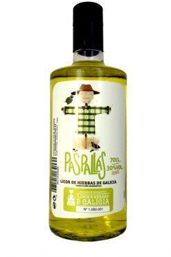 Licor de hierbas Paspallás denominación de origen 70 cl