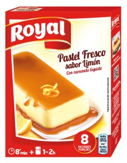 Pastel Royal limón 103 g