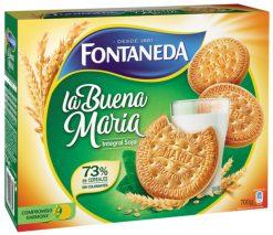Galletas Fontaneda La Buena María integral soja 700 g