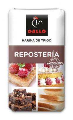 Harina Gallo trigo repostería 1 kg