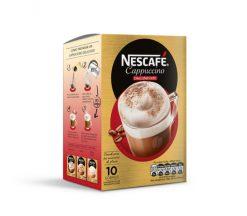 Café Nescafé cappuccino descafeinado 125 g 10 sobres