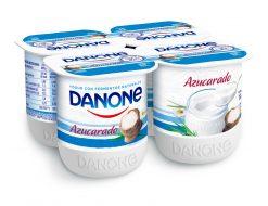 Yogur Danone natural azucarado Pack 4x120 g