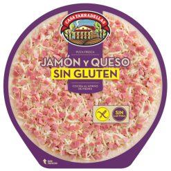 Pizza Casa Tarradellas jamón y queso sin gluten y sin lactosa 420 g