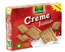 Galletas Gullón creme junior 4x170g