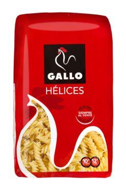 Pasta Gallo hélices 500 g