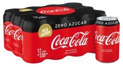 Coca-Cola lata Zero pack-12x33 cl