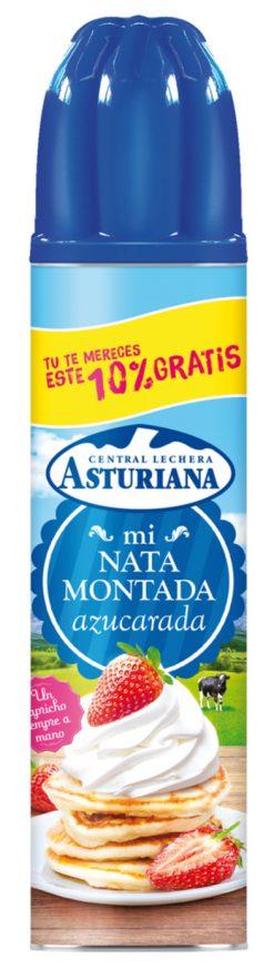 Nata Asturiana montada spray 250 ml