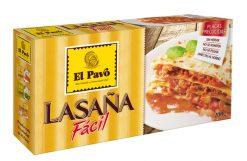 Pasta El Pavo lasaña instantanea 18 láminas 200 g