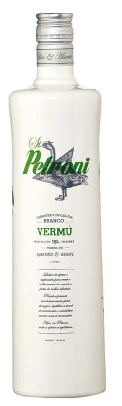 Vermouth Gallego St. Petroni blanco 1 l
