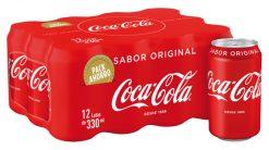 Coca-Cola lata pack-12x33 cl