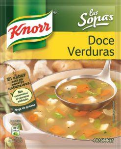 Sopa Knorr doce verduras sobre 41g