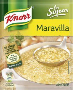 Sopa Knorr maravilla sobres 68g