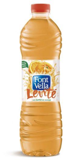 Agua Font Vella Levité naranja 1