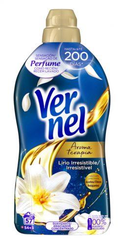 Suavizante Vernel concentrado secretos de bienestar 54 lavados
