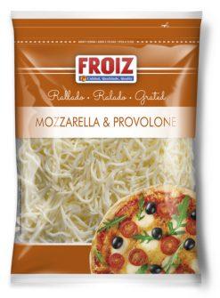 Queso Froiz rallado Mozzarella y Provolone 200 g