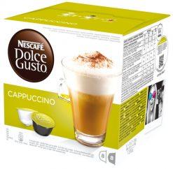Café cápsulas Nescafé Dolce Gusto cappuccino 8 u