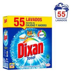 Detergente Dixan 55 cacitos