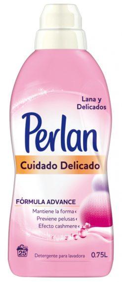 Detergente Perlan gel 750 ml 25 lavados