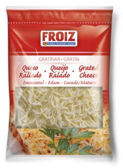 Queso Froiz rallado gratinar 3 quesos 200 g
