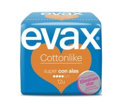 Compresa Evax Cottonlike super c/alas 12