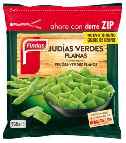 Judías Findus verdes planas 750 g