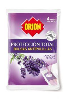 Antipolilla Orion bolsas perfumadas