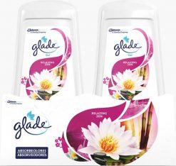 Ambientador Glade absorbeolores relax duplo 2x150 g