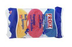 Esponja Froiz baño ovalada pack-3