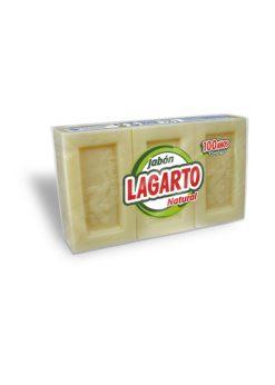 Jabón Lagarto puro 3x200 g