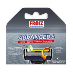 Cargador Froiz Advanced 6 hojas 4 u