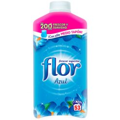 Suavizante Flor concentrado azul 45+8 lavados