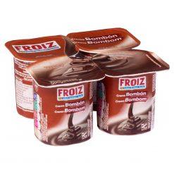 Crema Froiz bombón 4x125 g
