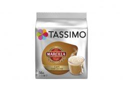 Café cápsulas Tassimo Marcilla café con leche 16 u