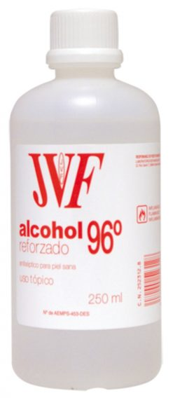 Alcohol etílico JVF 96% 25 cl ref. 1098-12