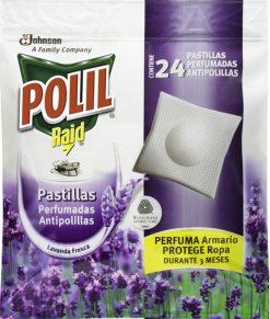 Antipolilla Polil pastillas perfum. 24u