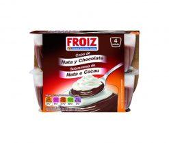 Copa Froiz nata chocolate 4x115 g