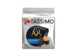 Café cápsulas Tassimo L'Or espresso descafeinado 16 u