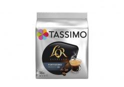 Café cápsulas Tassimo L'Or fortissimo intenso 16 u