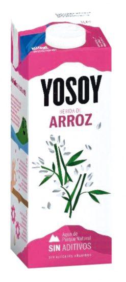 Bebida de arroz Yosoy 100% natural 1 l